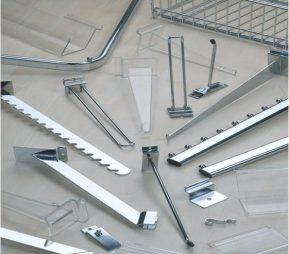 Аксессуары для торговых стеллажей купить недорого в Екатеринбурге
