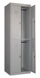 шкаф металлический ШРК 24 600 800