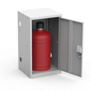 Шкаф для газового баллона ШГР 27-1 купить недорого в Екатеринбурге