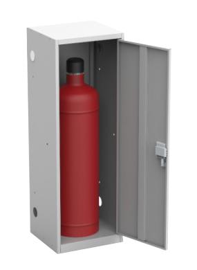 Шкаф для газовых баллонов ШГР 50-1 купить недорого