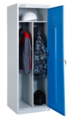 Шкаф для одежды ШРЭК-21-530 (1 дверь) металлический купить недорого