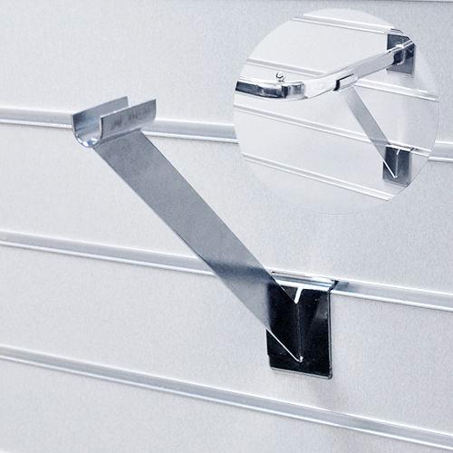 Опора для F 114 L=280мм, хром/ черный F115 для экономпанелей купеть недорого Екатеринбург