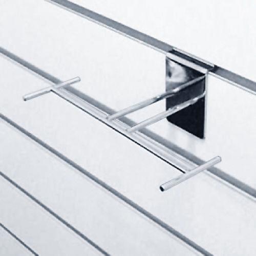 Полка обувная горизонтальная хром F91 для экономпанелей купеть недорого Екатеринбург