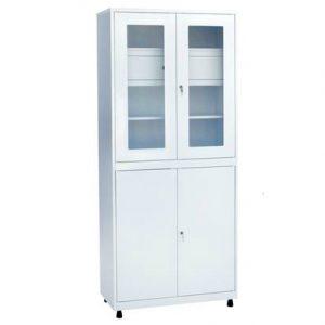 Медицинский шкаф для инструментов и медикаментов ШКВ-04 купить недорого в Екатеринбурге