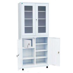 Медицинский шкаф для инструментов и медикаментов ШКВ-05 купить недорого в Екатеринбурге