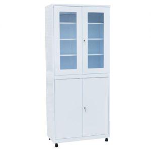 Медицинский шкаф для инструментов и медикаментов ШКВ-01 купить недорого в Екатеринбурге