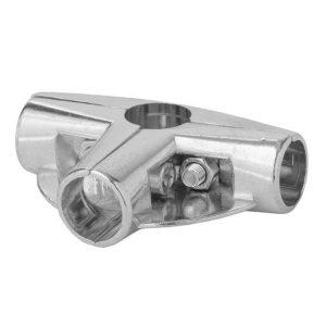 Соединение для труб с 2 держателями полок UNO-09 купить недорого