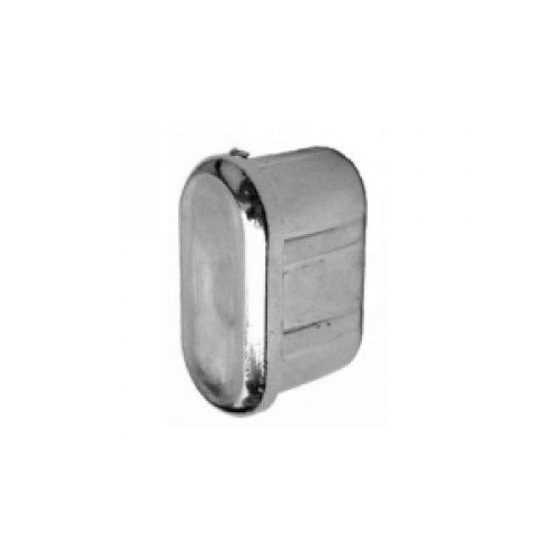 Заглушка для овальной трубы Wall 15*30 cap купить недорого с доставкой