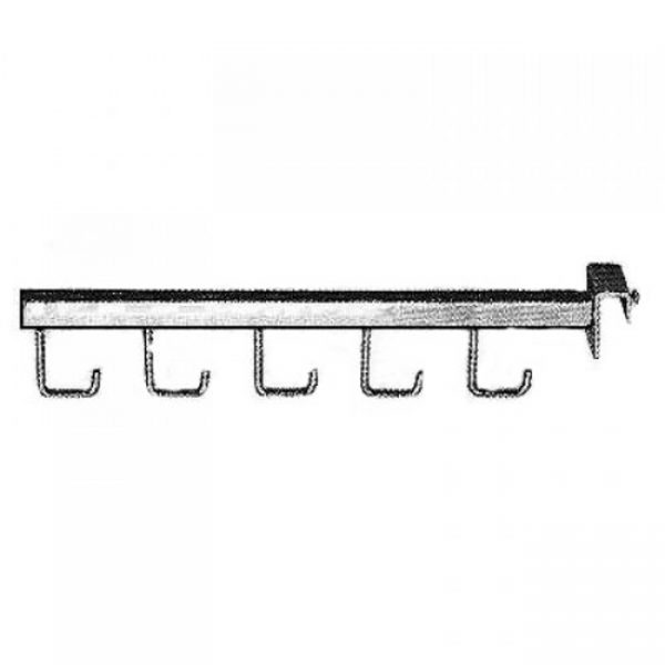 Кронштейн с крючками для прямоугольной трубы Wall 443 купить недорого с доставкой