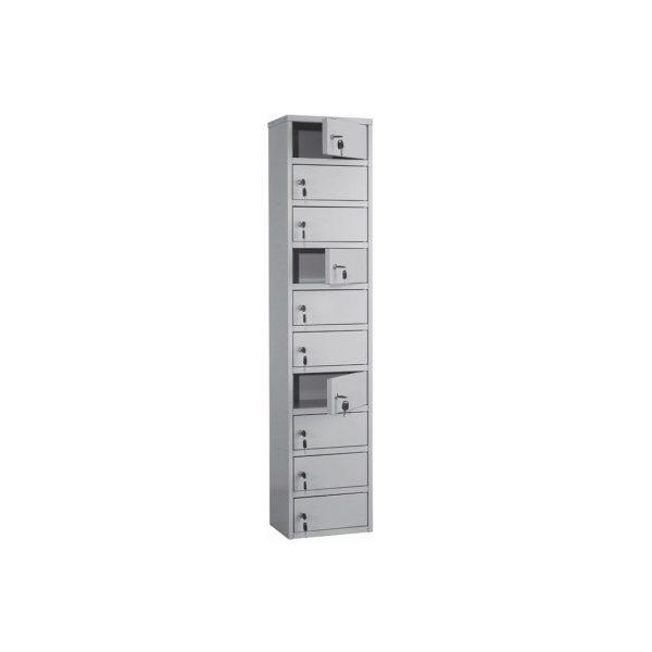 Индивидуальный шкаф кассира ПРАКТИК AMB-140/10 купить недорого с доставкой