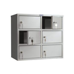 Индивидуальный шкаф кассира ПРАКТИК AMB-45/6 купить недорого с доставкой