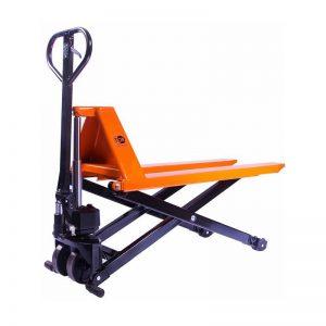 Тележка гидравлическая 1000 кг 1150 мм TOR JF с ножничным подъемом (полиуретановые колеса) купить недорого с доставкой