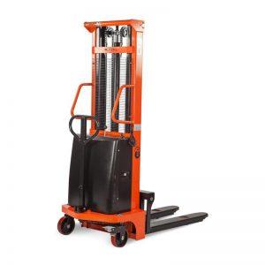 Штабелер гидравлический с электроподъемом 1,0 т 2,0 м TOR CTD1020 купить недорого с доставкой