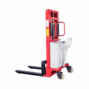 Штабелер гидравлический с электроподъемом 1,0 т 3,0 м TOR PEMS10 купить недорого с доставкой