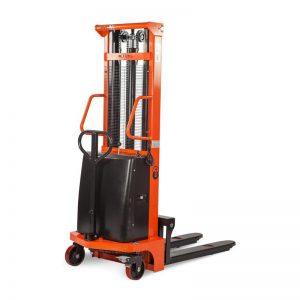 Штабелер гидравлический с электроподъемом 1,5 т 1,6 м TOR CTD1516 купить недорого с доставкой