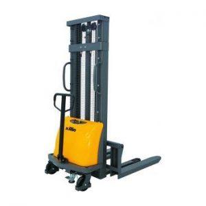 Штабелер гидравлический с электроподъемом 1,5 т 1,6 м XILIN CDD15B-E (WET) купить недорого с доставкой