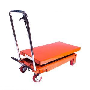 Стол подъемный передвижной 150 кг 210-720 мм TOR PT150 купить недорого с доставкой