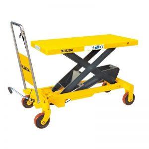 Стол подъемный передвижной 1500 кг 420-1000 мм XILIN SP1500 купить недорого с доставкой