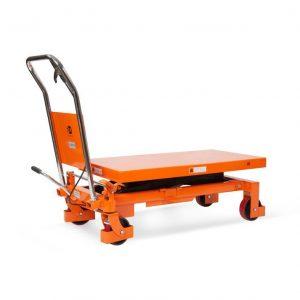 Стол подъемный передвижной 300 кг 300-900 мм TOR WP-300 купить недорого с доставкой