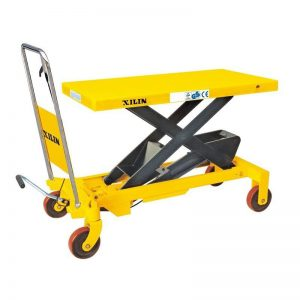 Стол подъемный передвижной 300 кг 340-900 мм XILIN SP300А купить недорого с доставкой