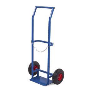 Тележка для пропановых баллонов TOR ПР-1, 1 баллон (колеса 250 мм) купить недорого с доставкой