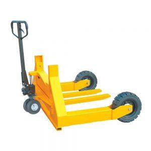 Тележка гидравлическая 1500 кг 800 мм TOR HW для бездорожья (резиновые колеса) купить недорого с доставкой
