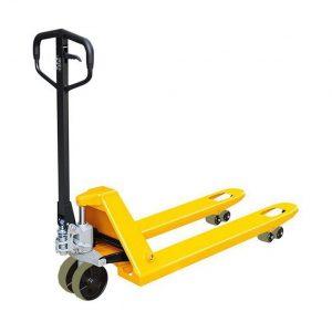 Тележка гидравлическая 2000 кг 1150 мм XILIN DB (нейлоновые колеса) купить недорого с доставкой