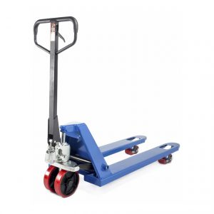 Тележка гидравлическая 2500 кг 1150 мм TOR RHP (полиуретановые колеса) купить недорого с доставкой