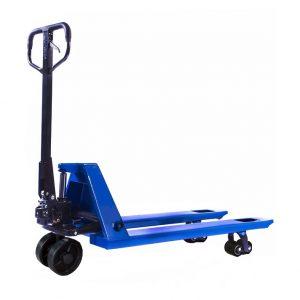 Тележка гидравлическая 2500 кг 1150 мм TOR RHP (резиновое колесо) купить недорого с доставкой