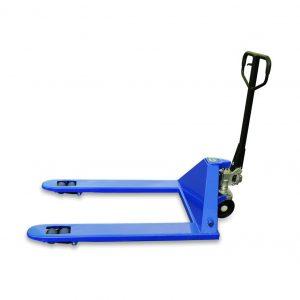 Тележка гидравлическая 2500 кг 1220х685 мм TOR RHP(BF) широковильная (полиуретан.колеса) купить недорого с доставкой