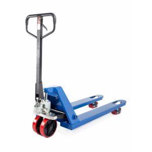 Тележка гидравлическая 3000 кг 1150 мм TOR RHP (полиуретановые колеса) купить недорого с доставкой