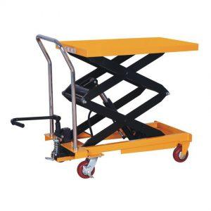 Стол подъемный передвижной 500 кг 360-1500 мм TOR PTS500 купить недорого с доставкой