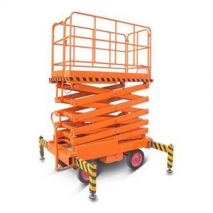 Подъемник ножничный передвижной 500 кг 9 м TOR SJY (автономный) (N) купить недорого с доставкой